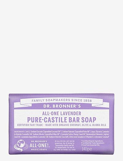 Pure-Castile Bar Soap Lavender - handtvål - no colour