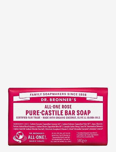 Pure-Castile Bar Soap Rose - handvård - no colour