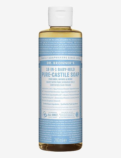 18-in-1 Castile Liquid Soap Baby-Mild (unscented) - håndsæbe - no colour