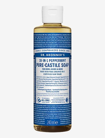 18-in-1 Castile Liquid Soap Peppermint - handtvål - no colour