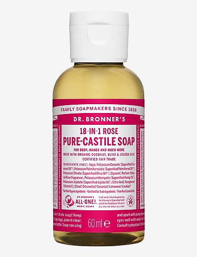18-in-1 Castile Liquid Soap Rose - handvård - no colour