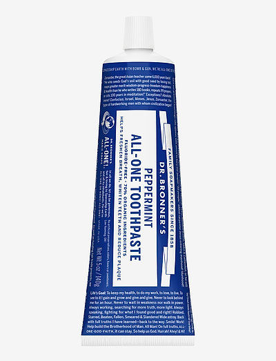 Peppermint Toothpaste - home - no colour