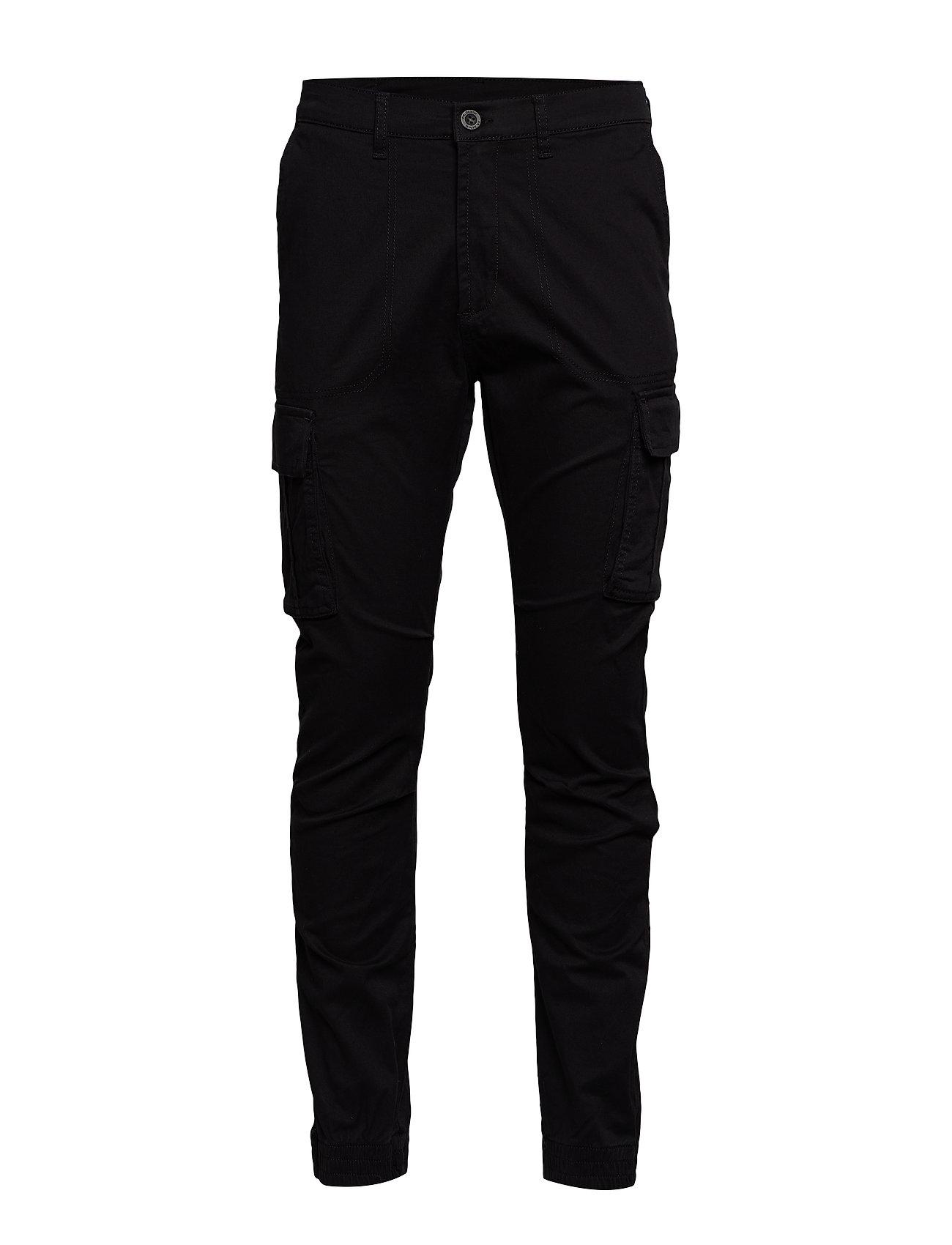 Image of Cooper Cargo Pants Trousers Cargo Pants Sort Dr. Denim (3217409263)