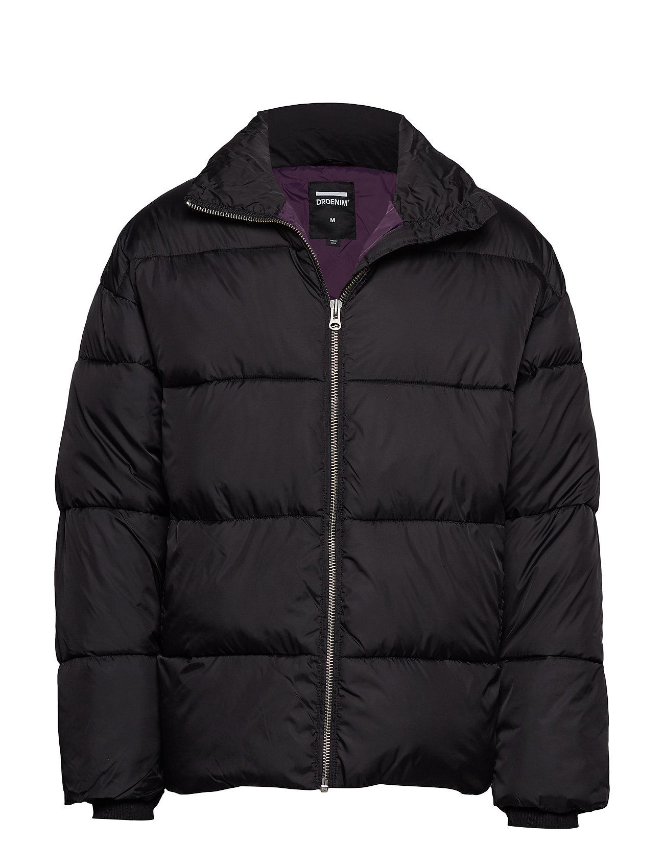 Dr. Denim Valley Puffer Jacket - BLACK