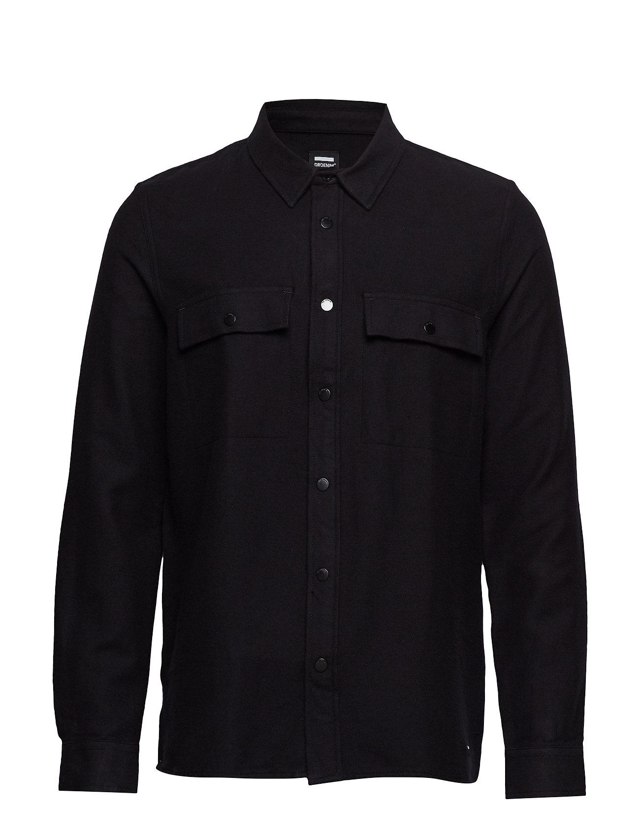 Dr. Denim Darwin Shirt - BLACK