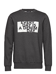 Adrian Sweater - DARK GREY DAY