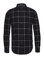 Iggy Regular Shirt - BLACK CHECK