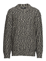 Tyson Knit - BLACK SPECKLE
