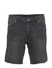 Gene Denim Shorts - BLACK DUSK