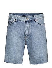 Gene Denim Shorts - HAWAIIAN BLUE