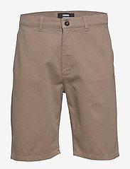 Dr. Denim - Dash Chino Shorts - spodenki chinos - khaki - 0