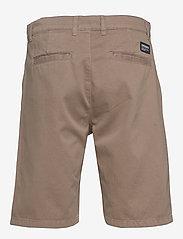 Dr. Denim - Dash Chino Shorts - spodenki chinos - khaki - 1