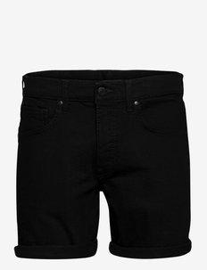 Mac Shorts - denim shorts - organic black