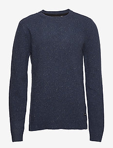 Noah Sweater - NAVY NEPS
