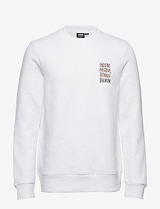 Adrian Sweater - WHITE SMALL DEMIN