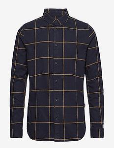Iggy Regular Shirt - BLUE CHECK