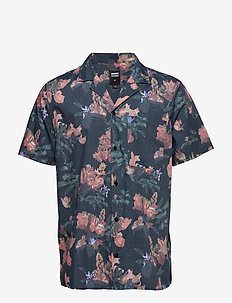 Kai Short Sleeve Shi - FLAME FLOWER