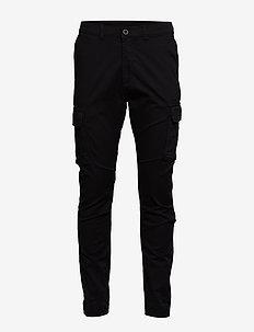 Cooper Cargo Pants - BLACK