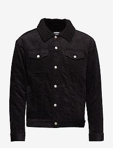 Caleb Sherpa Jacket - BLACK CORD