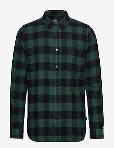 Idris Shirt - GREEN CHECK