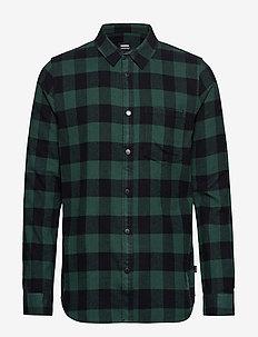 Idris Shirt - GREEN CHECK