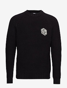 Helix Knit - BLACK