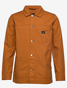 Neil Worker Jacket - COGNAC