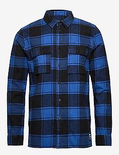 Luke Shirt - BUZZING BLUE CHECK