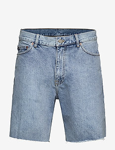 Gene Denim Shorts - jeansowe szorty - hawaiian blue