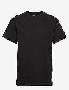 Derek Tee - basis-t-skjorter - black