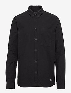 Dale Shirt - basic shirts - black