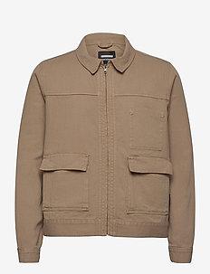 Igor Denim Jacket - farkkutakit - khaki