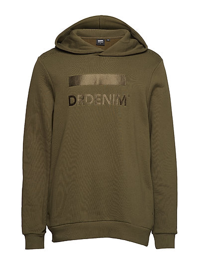 Ace Hoodie - GREEN EMBROIDERY LOGO