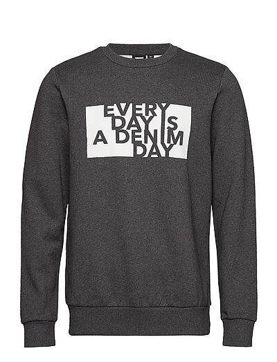 Adrian Sweater - DARK GREY DAY