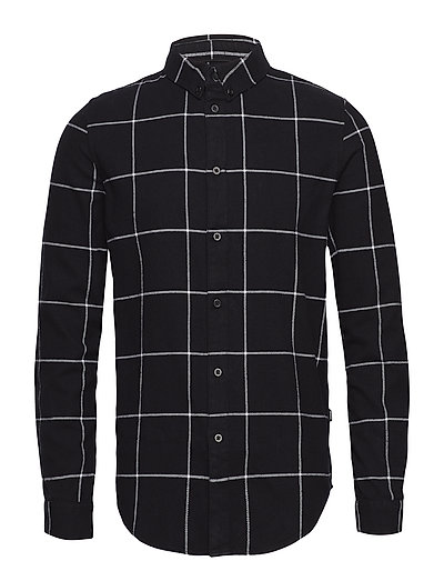 Iggy Regular Shirt - BLACK CHECK