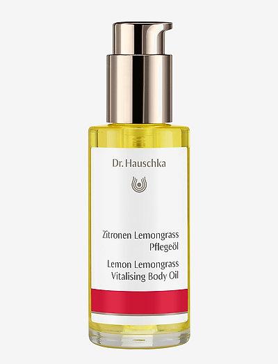 Lemon Lemongrass Body Oil - kropsolier - clear