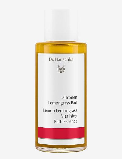Lemon Lemongrass Vitalising Bath Essence - bad & dusj - clear