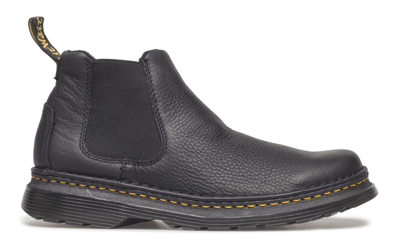 Semelle 50 Pvc 100 Black Martens Outsole Textile Intérieure Oakford Dr Cuir Partie Supérieure HqU6FFwz