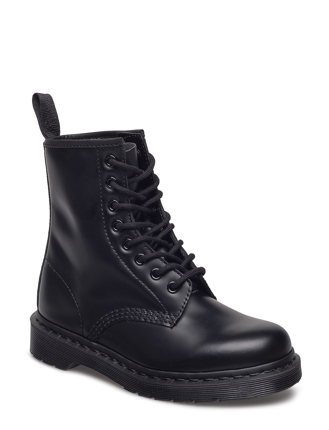 Image of 1460 Mono Black Smooth Shoes Boots Ankle Boots Ankle Boot - Flat Blå Dr. Martens (3445667665)