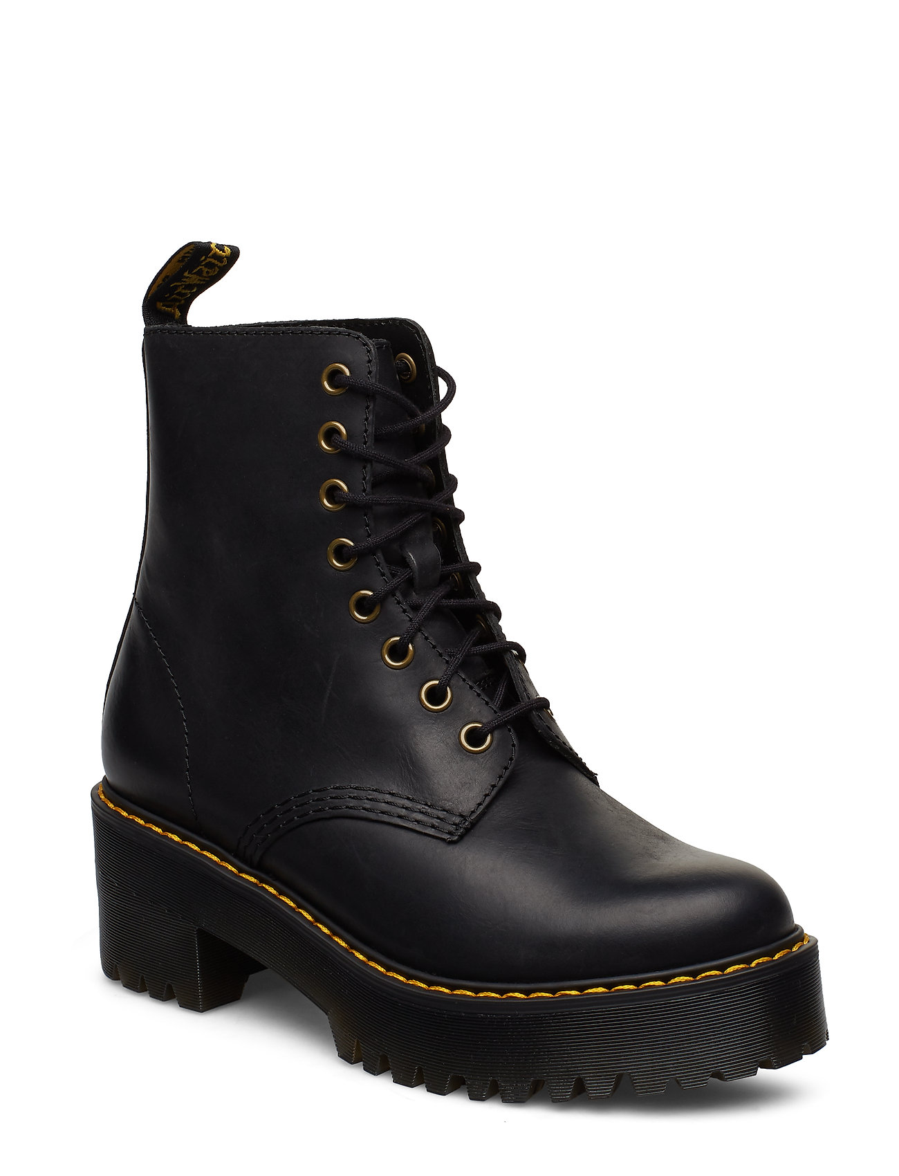 1460 Finda Shoes Boots Ankle Boots Ankle Boots With Heel Musta Dr. Martens