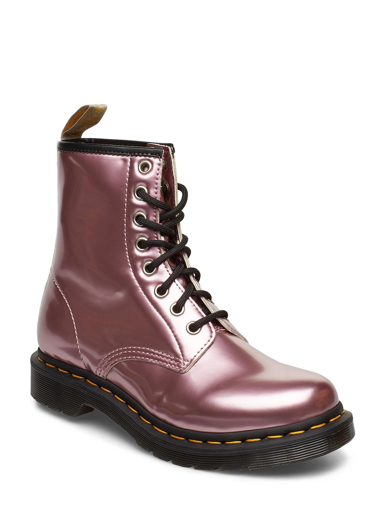 DR MARTENS 1460 Vegan Shoes Boots Ankle Boots Ankle Boots Flat Heel Lila DR. MARTENS