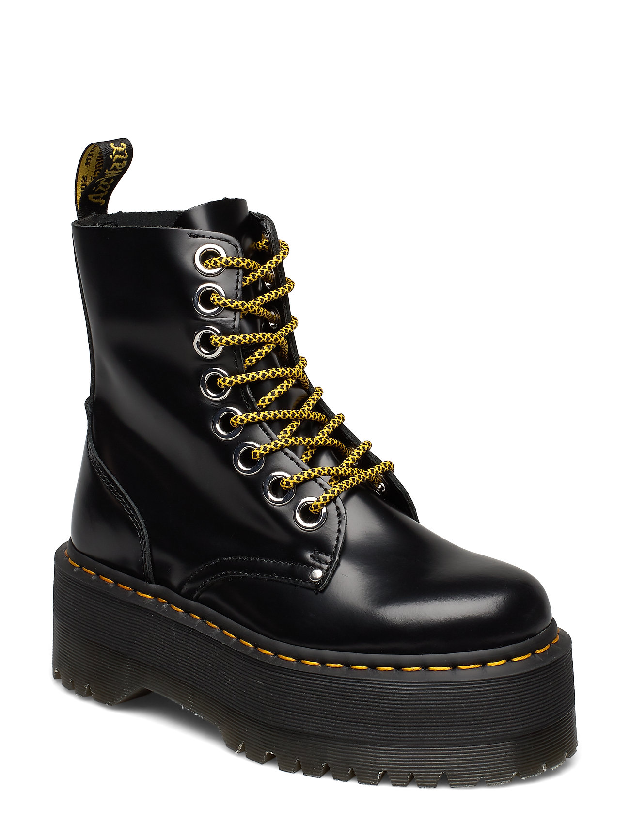 Image of Jadon Max Black Buttero Shoes Boots Ankle Boots Ankle Boot - Flat Sort Dr. Martens (3461976751)