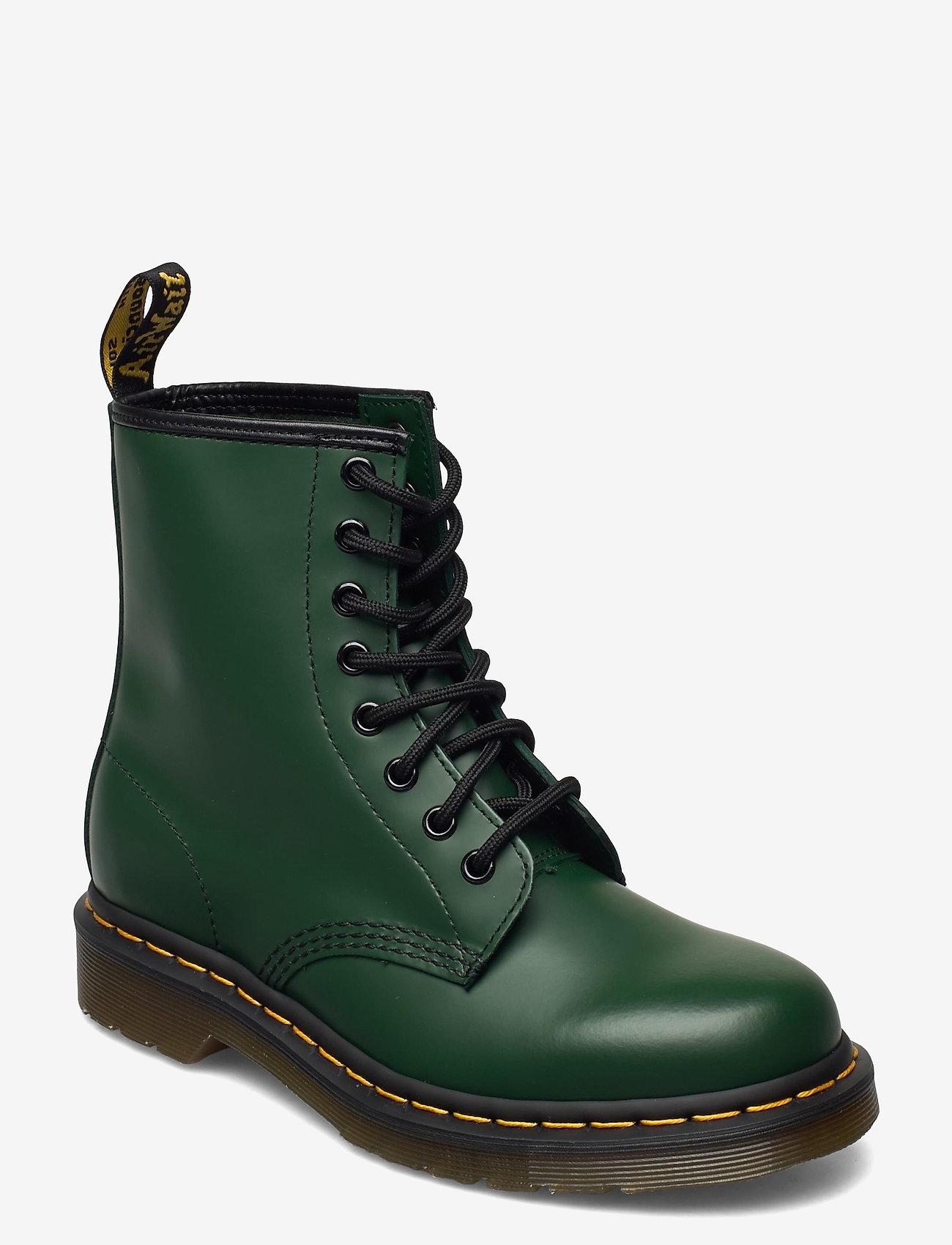 Dr. Martens - 1460 - flade ankelstøvler - green - 0