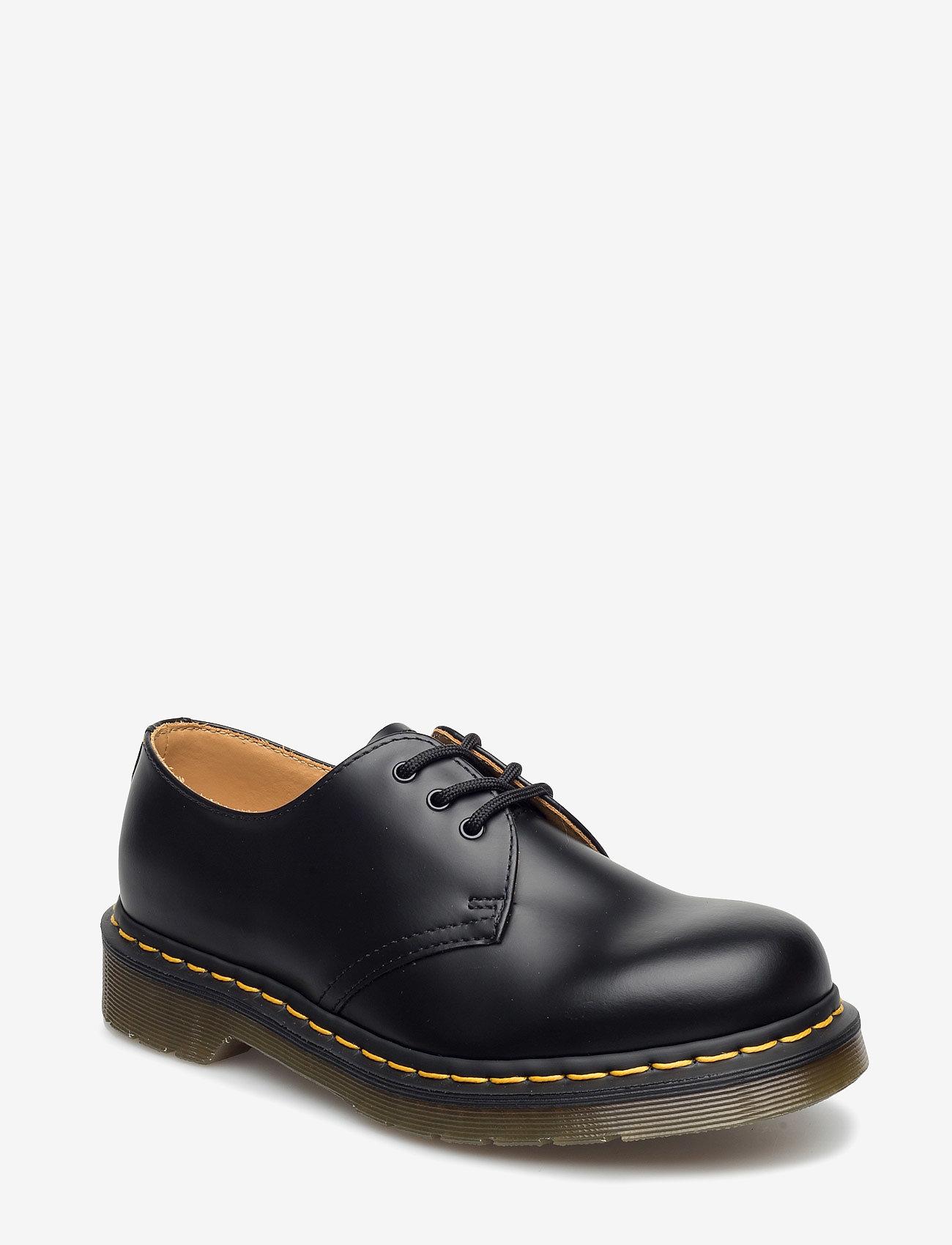 Dr. Martens - 1461 Black Smooth - snøresko - black - 0