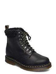 1460 Collar Black Snowplow Wp+Borg Fleece - BLACK