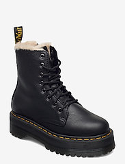 Dr. Martens - Jadon Fl Black Pisa - flat ankle boots - black - 1