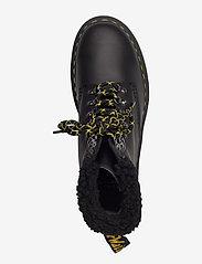 Dr. Martens - 1460 Collar Black Snowplow Wp+Borg Fleece - platte enkellaarsjes - black - 3