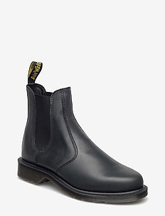 Laura Black Polished Apache - chelsea boots - black