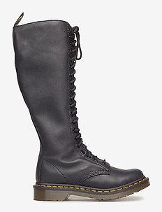 1b60 Black Virginia - höga stövlar - black