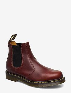 2976 - chelsea støvler - brown